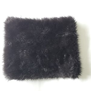H&M Accessories - Black Faux Fur Cowl Scarf